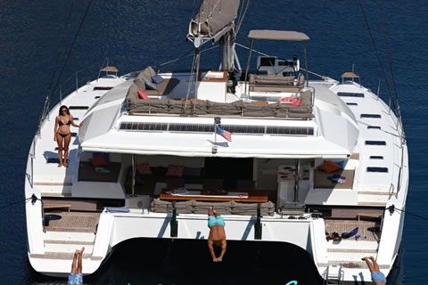 Port to Vino Caribbean catamaran yacht charter