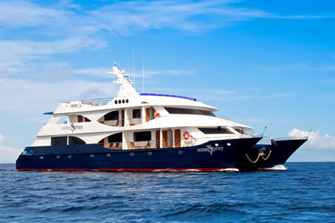 Ocean Spray Private Yacht Charter in the Galapagos