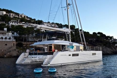 Whispers II 56ft Lagoon Catamaran Yacht Charter