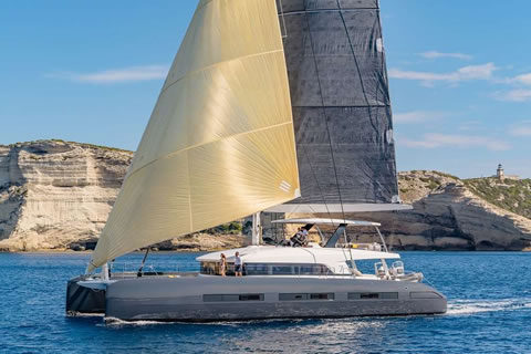 TELL STAR 77ft catamaran charter yacht