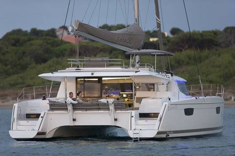 Neverland 50ft Fountaine-Pajot Catamaran