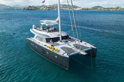 Excess Caribbean yacht charter catamaran
